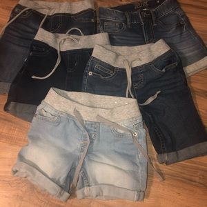 Justice 7 slim shorts lot